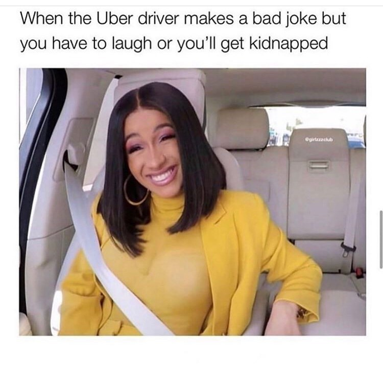 Face - When the Uber driver makes a bad joke but you have to laugh or you'll get kidnapped Ogrtezzcub