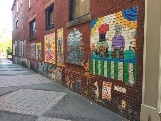 Street art - MISS
