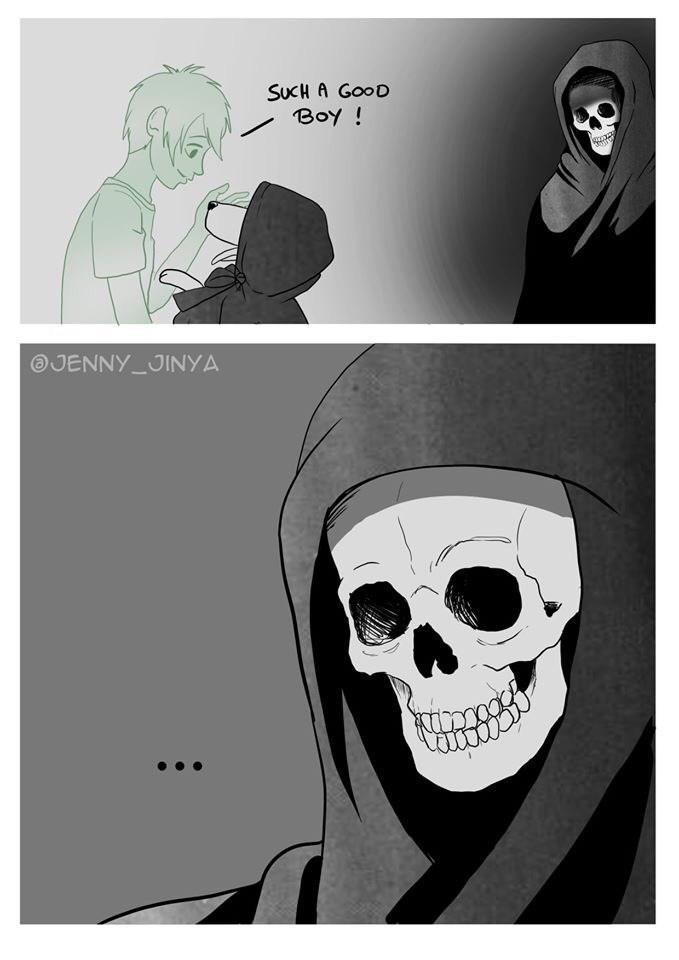 Cartoon - SUKH A GOOD Boy! JENNY JINYA