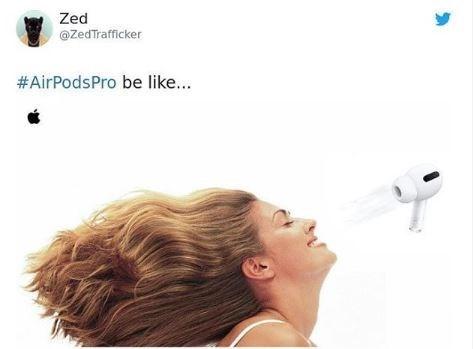 Hair - Zed @ZedTrafficker #AirPodsPro be like...