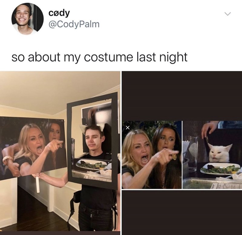 Facial expression - cødy @CodyPalm so about my costume last night X