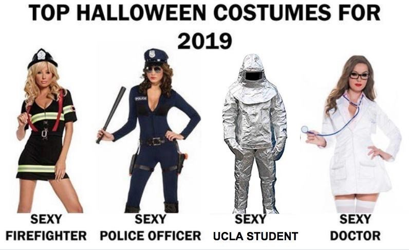 Clothing - TOP HALLOWEEN COSTUMES FOR 2019 SEXY SEXY SEXY SEXY FIREFIGHTER POLICE OFFICER UCLA STUDENT DOCTOR