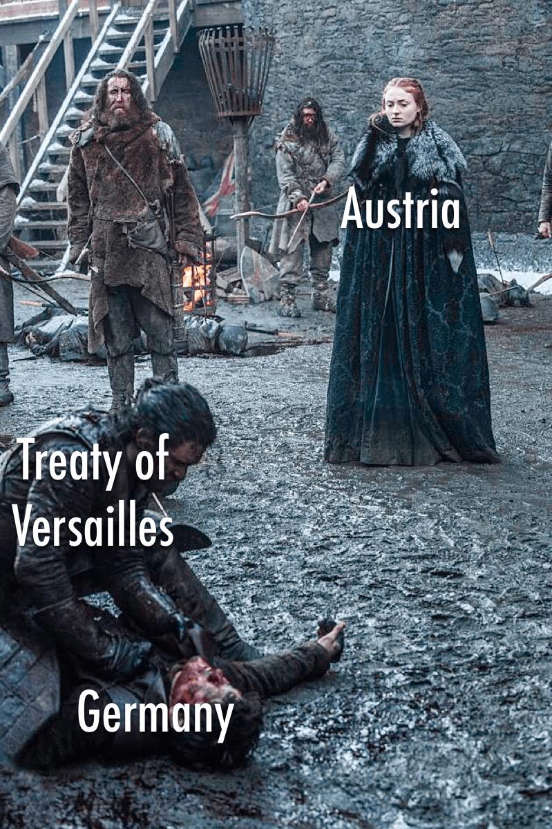 Movie - Austria Treaty of Versailles Germany