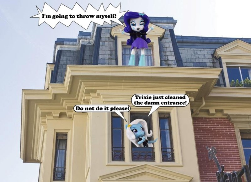 the great and powerful trixie equestria girls toys rarity - 9381558784