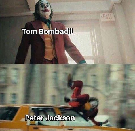 Fictional character - EXIT Tom Bombadil Peter Jackson