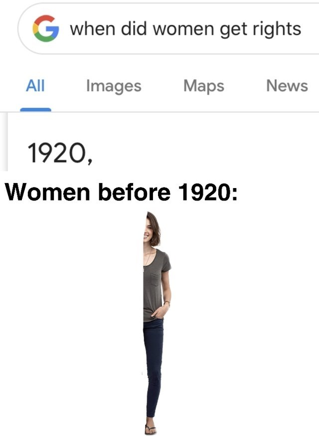 Text - Gwhen did women get rights All Images Maps News 1920, Women before 1920