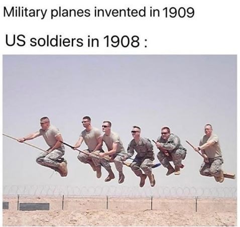 Team - Military planes invented in 1909 US soldiers in 1908