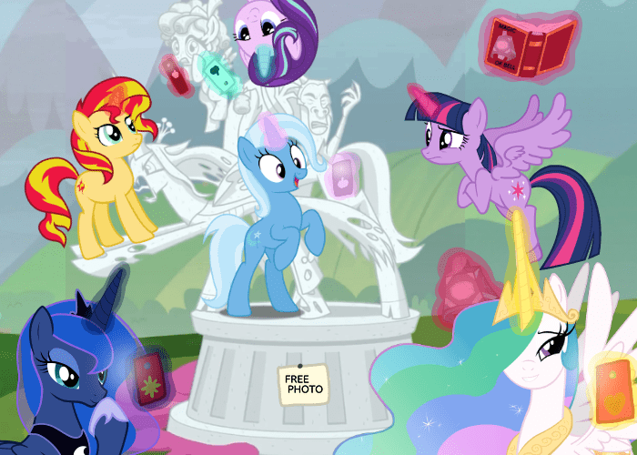 the great and powerful trixie dashie sparkle starlight glimmer twilight sparkle tirek kyodashiro cozy glow the ending of the end princess luna chrysalis light262 princess celestia sunset shimmer changelings - 9383156480