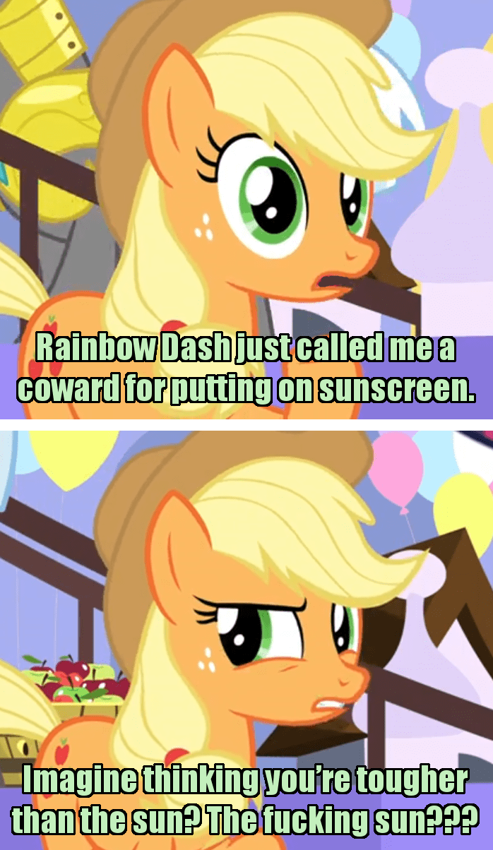 applejack incorrect my little pony quotes screencap the ending of the end - 9383158272