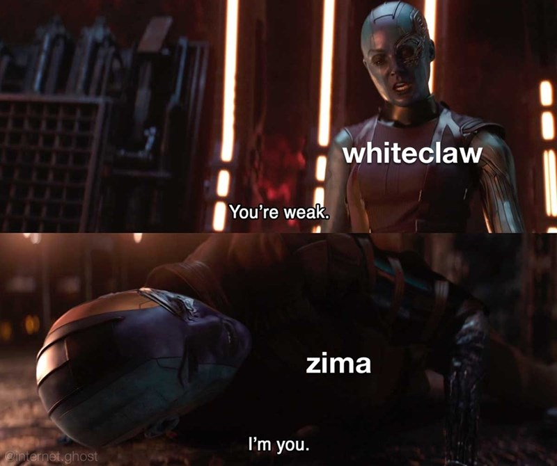 Fictional character - whiteclaw You're weak. zima I'm you. Ointernet.ghost