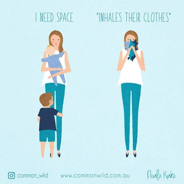 Design - NEED SPACE INHALES THEIR CLOTHES Puala Knto common wild www.commonwild.com.au