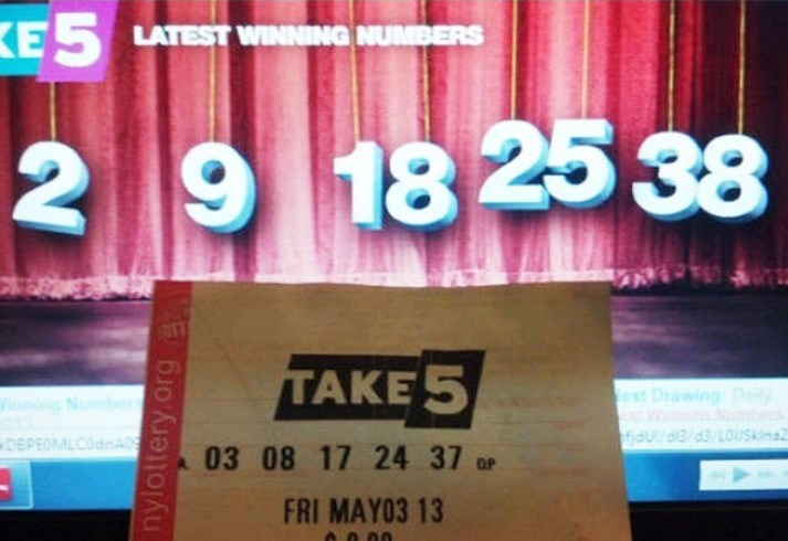 Text - ESLATEST WINNING NUMBERS 2 9 1825 38 TAKE 5 ext Drawing idudd3u DEPEOMLCdnA 03 08 17 24 37 ar FRI MAY03 13 00 nylottery.org