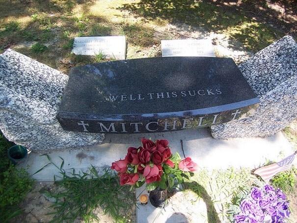 Grave - AN WELLTHIS SUCKS MITCHELL