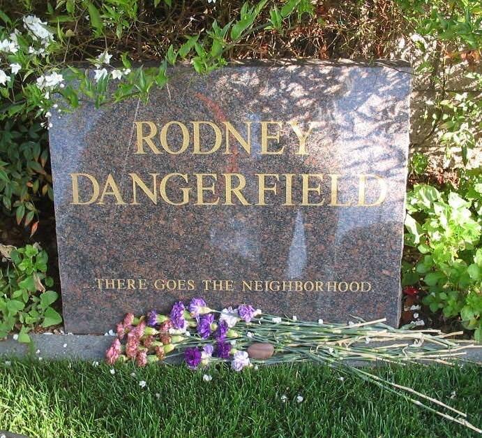 Headstone - RODNEY DANGERFIEFD THERE GOES THE NEIGHBORHOOD