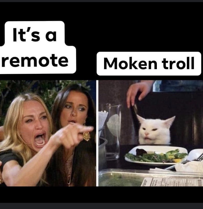 Facial expression - It's a remote Moken troll