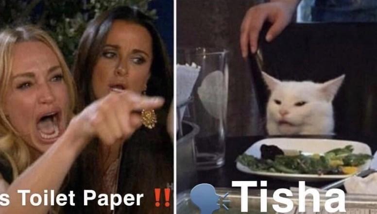Face - Tisha s Toilet Paper !!
