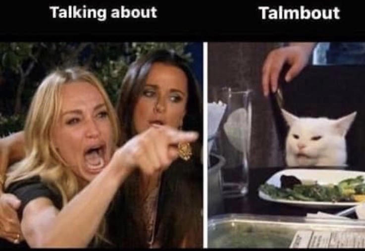 Facial expression - Talking about Talmbout