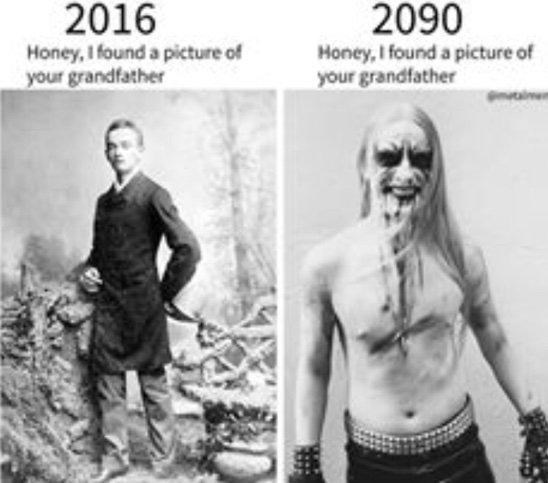 Muscle - 2090 2016 Honey, I found a picture of your grandfather Honey, I found a picture of your grandfather