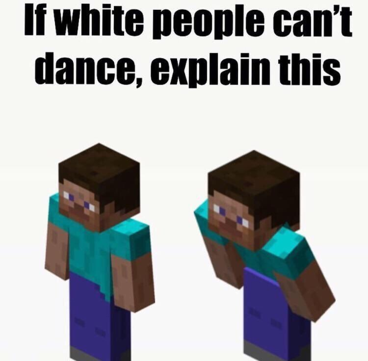 Video game software - If white people can't dance, explain this