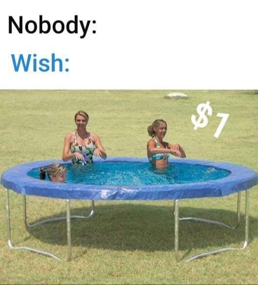 Trampoline - Nobody: Wish: $7