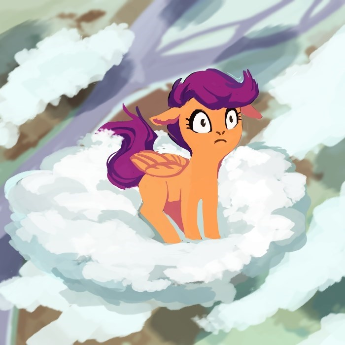 weird fish Scootaloo - 9384487424
