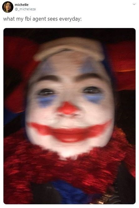 Clown - michelle michelleza what my fbi agent sees everyday: