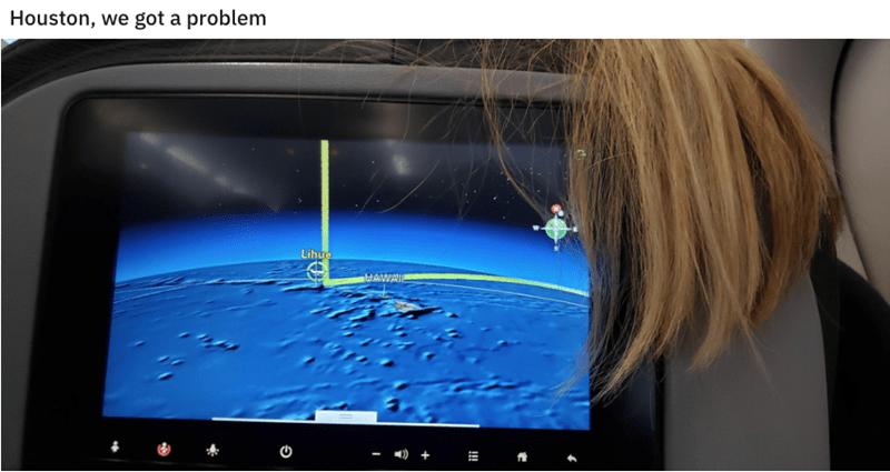 Screen - Houston, we got a problem Lihue AWA !!