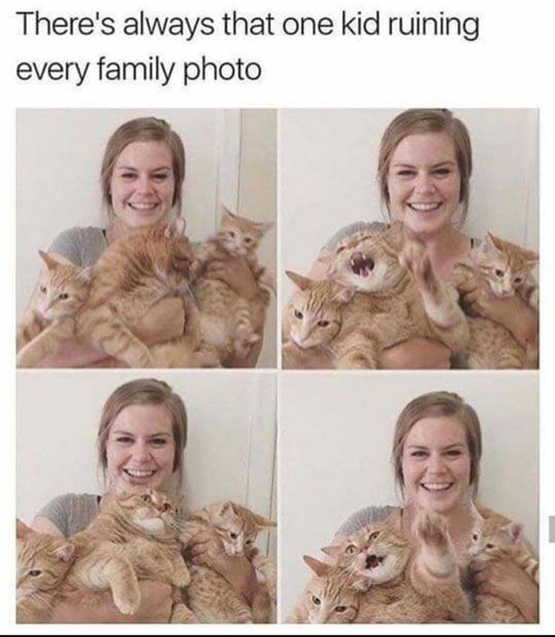 Face - There's always that one kid ruining every family photo