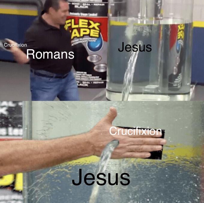 Water - OND AL BLACK Stp Lsk FLEX APE Jesus Crucifixion Romans LACK Crucifixion Jesus