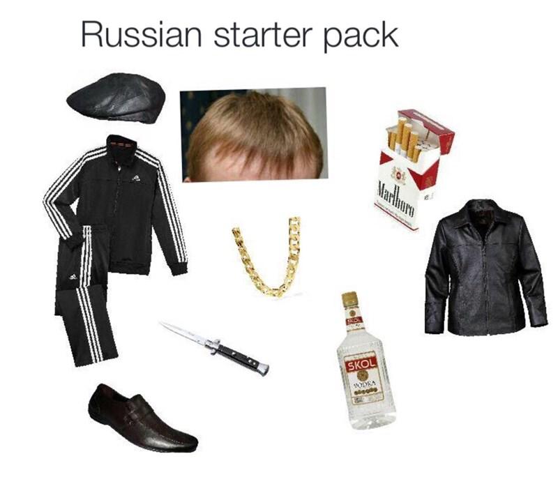 Clothing - Russian starter pack Marthuro SKOL