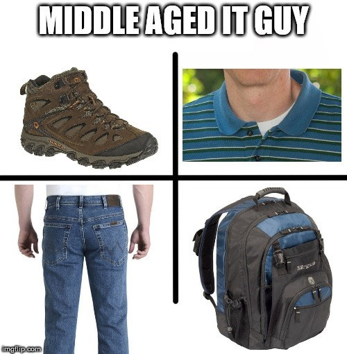Bag - MIDDLEAGEDIT GUY imgilip.com