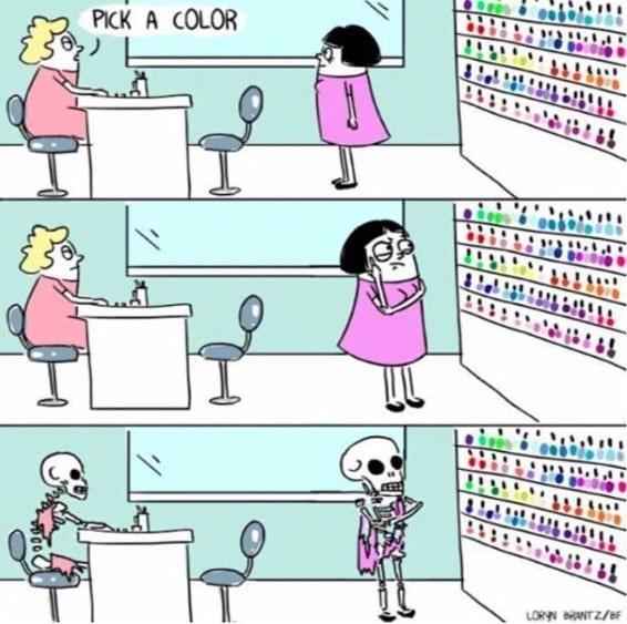 Cartoon - PICK A COLOR LORN BRANT Z/F