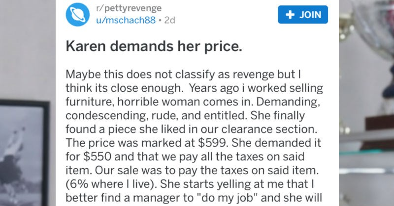 A collection of petty revenge cases from Redditors.