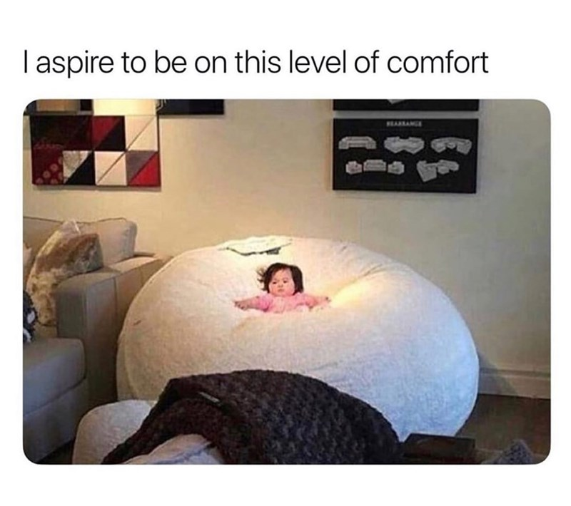 Furniture - I aspire to be on this level of comfort EARANCE