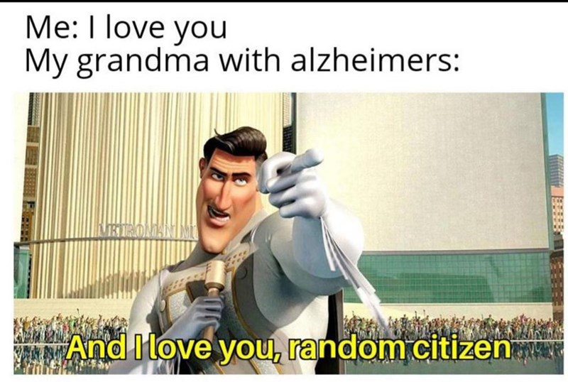 Text - Me: I love you My grandma with alzheimers: KETEONANI And ove you, random citizen