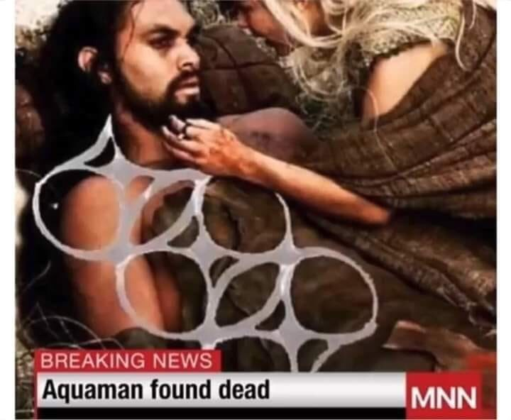 Product - BREAKING NEWS Aquaman found dead MNN
