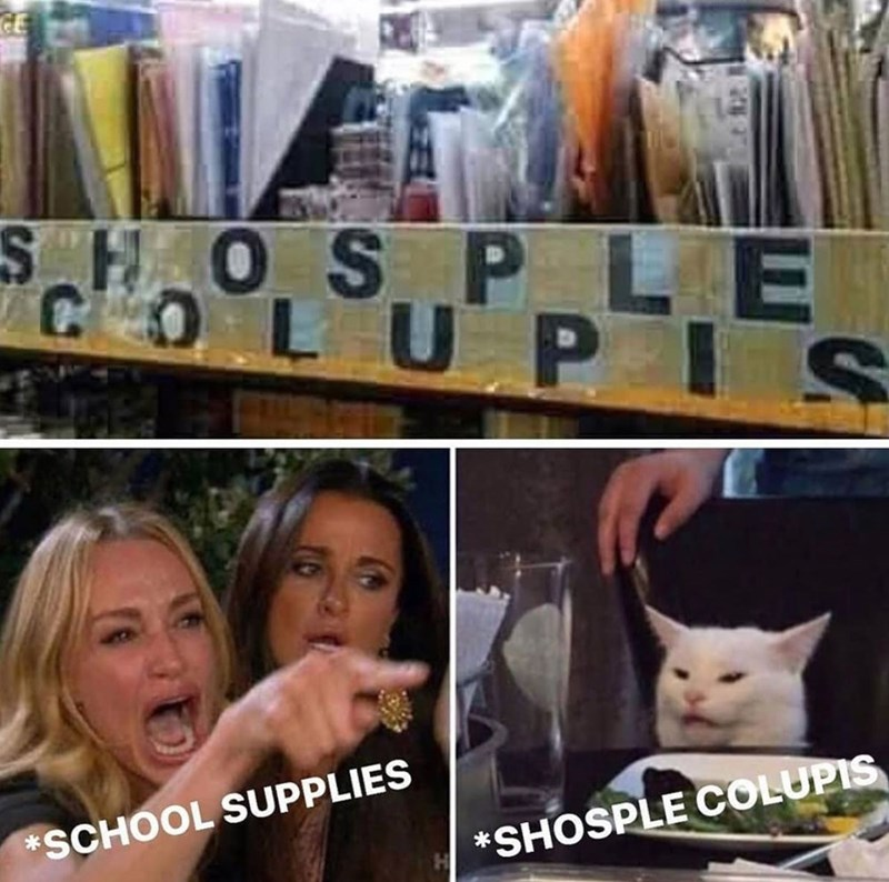 Cat - CE SHOSP LE COLUPIS SCHOOL SUPPLIES *SHOSPLE COLUPIS
