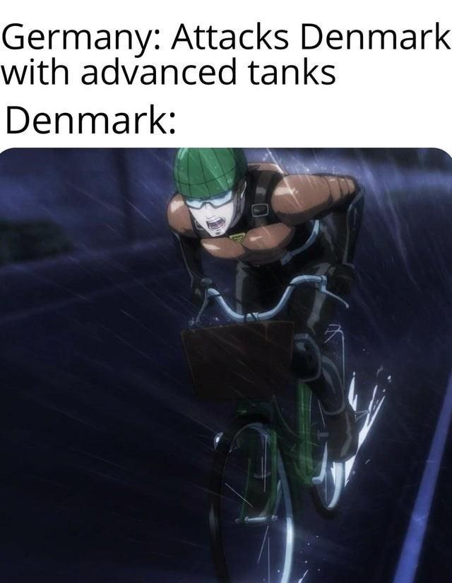 Technology - Germany: Attacks Denmark with advanced tanks Denmark: