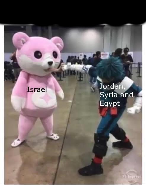 Mascot - Jordan, Syria and Egypt Israel PS Express