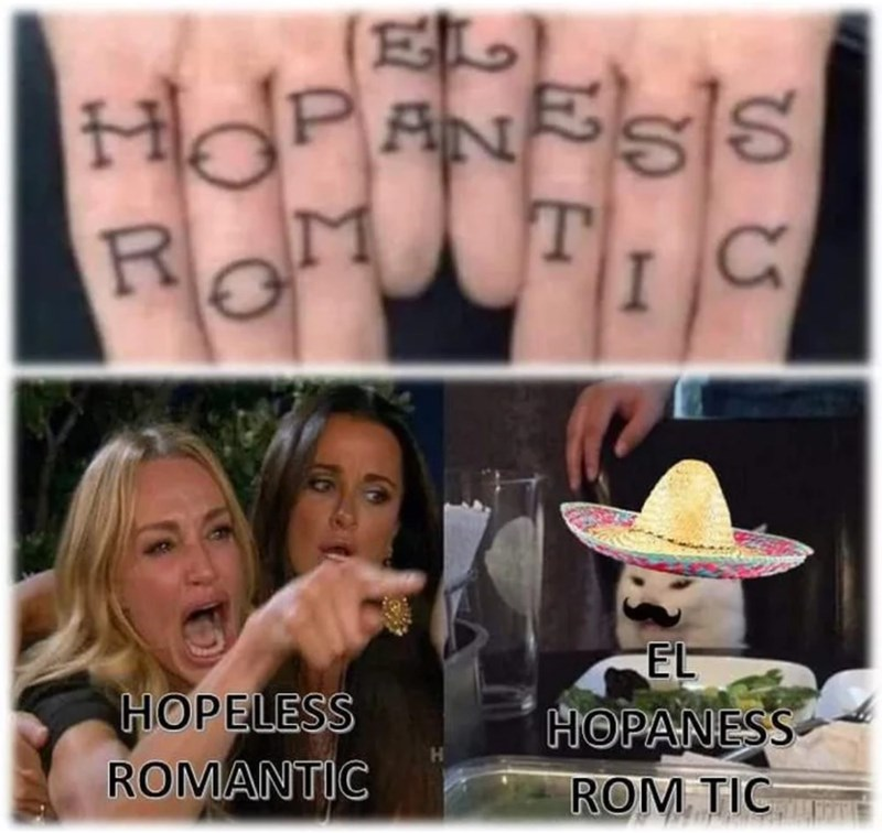 Tattoo - HO ROM PANSS S TIC EL HOPELESS ROMANTIC HOPANESS ROM TIC R