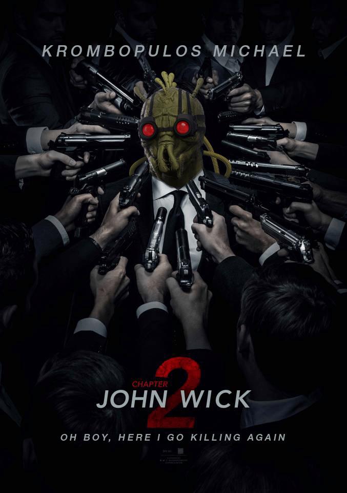 Poster - KROMBOPULOS MICHAEL CHAPTER JOHN WICK OH BOY, HERE I GO KILLING AGAIN