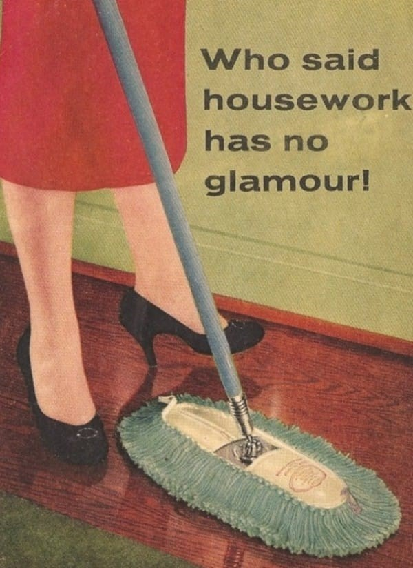 Broom - Who said housework has no glamour!