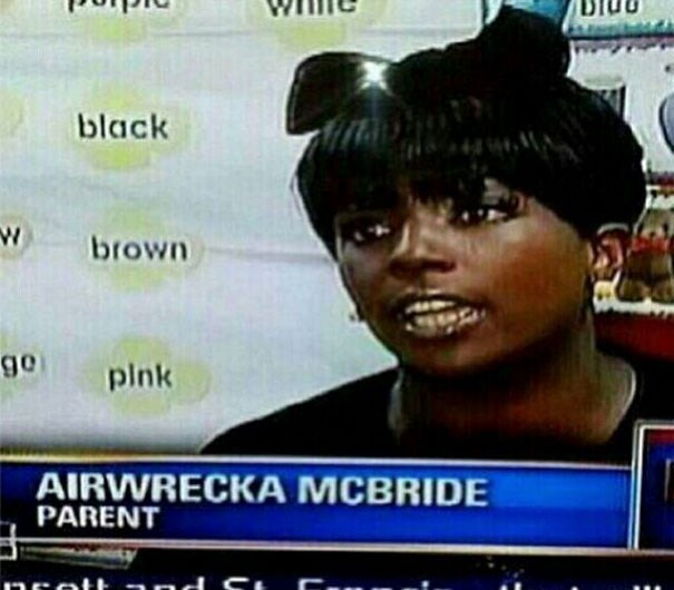 News - black W brown o6 pink AIRWRECKA MCBRIDE PARENT