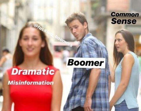 Product - Common Sense @fuckng boomers Boomer Dramatic Misinformation