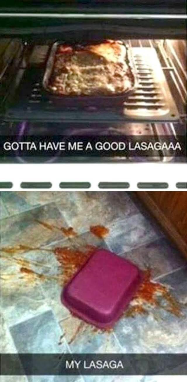 Table - GOTTA HAVE ME A GOOD LASAGAAA MY LASAGA