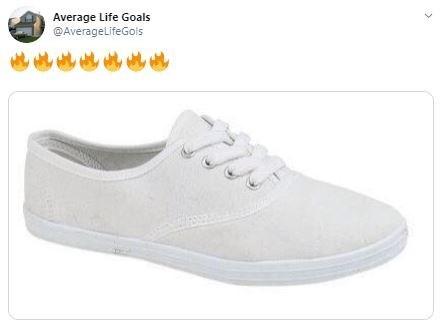 Shoe - Average Life Goals @AverageLifeGols