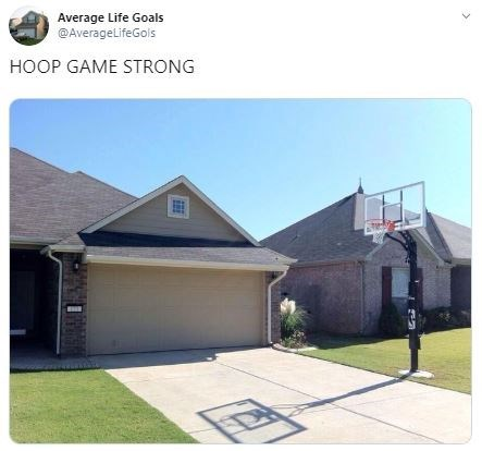 Home - Average Life Goals @AverageLifeGols HOOP GAME STRONG >