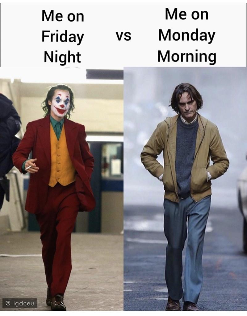 Clothing - Мe on Мe on Monday Morning Friday Night VS @ igdceu