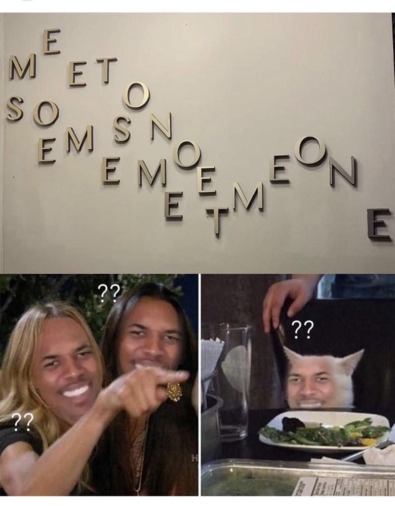 Facial expression - MET SO EMSN EME E E ?? ?? ?? LLJ