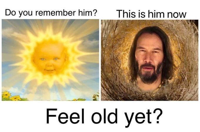 Text - This is him now Do you remember him? Feel old yet?